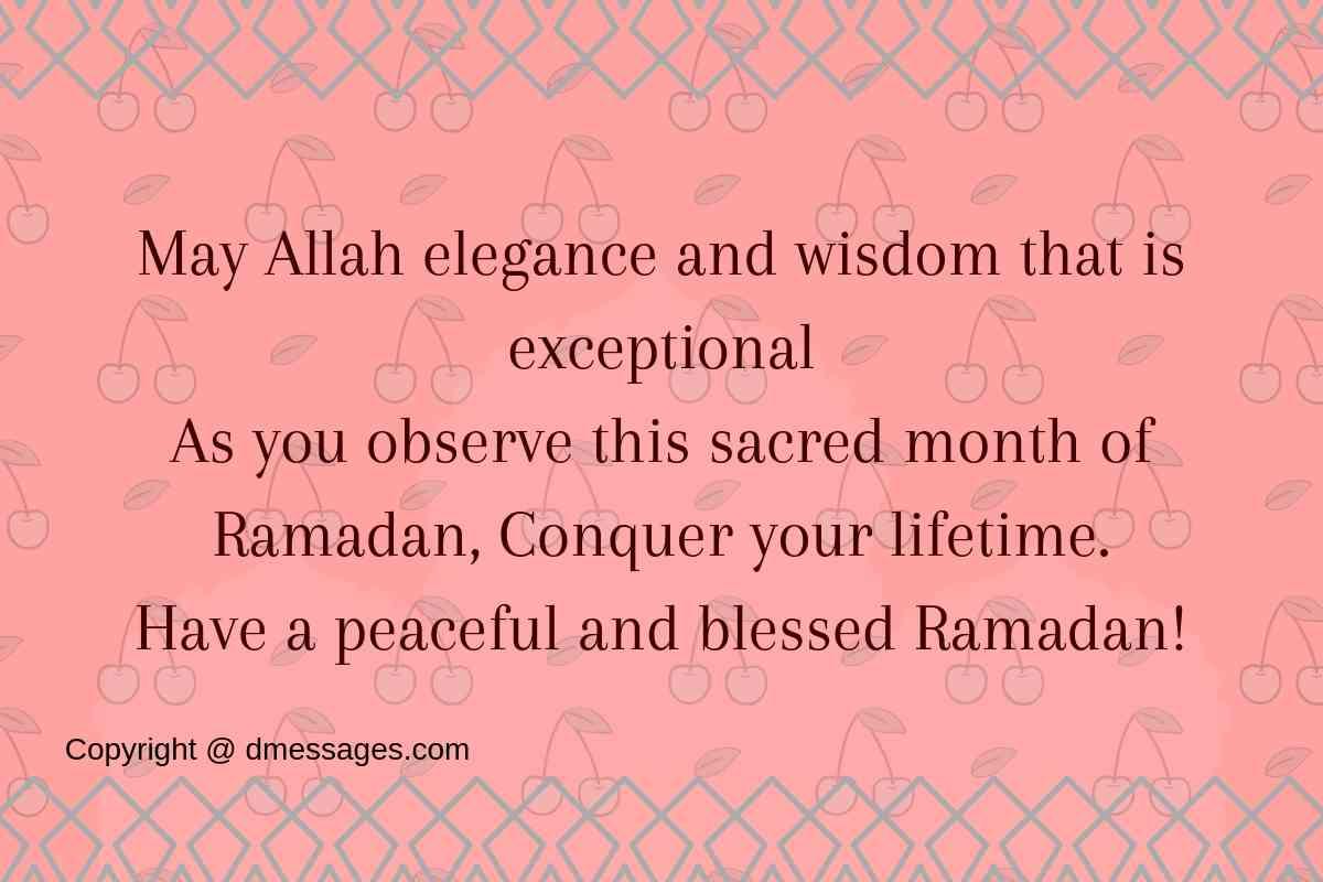 Ramadan kareem short messages-iftari wishes