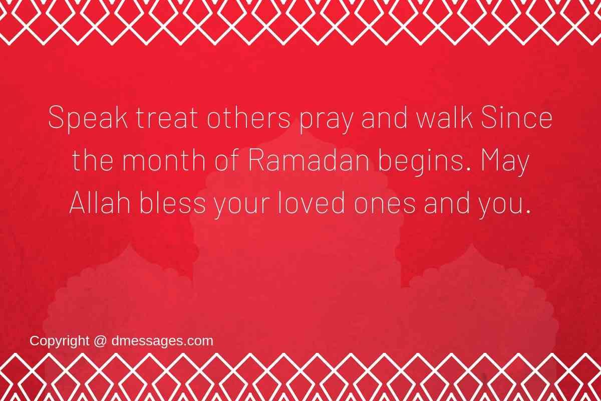 Ramadan Mubarak wishes messages - Ramadan sehri sms